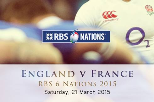 Muscle Dream Programme  RBS 6 NATIONS: ENGLAND V FRANCE