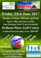 Pedham Place Golf Centre Charity Golf Day